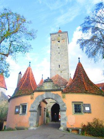 Altstadt: Back of the town
