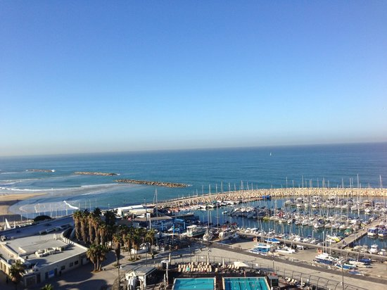 Carlton Tel Aviv : Magnificent view from the hotel room
