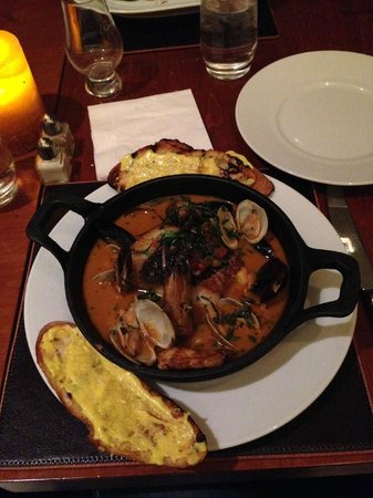 Cielo Restaurant - Four Seasons St. Louis: Stew of Seafood Love!