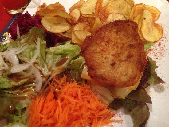 Pommes de Terre et Compagnie : Cheeseburger raclette