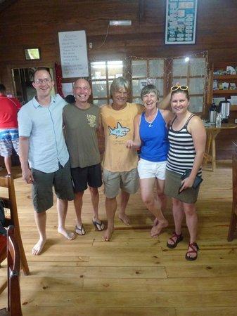 Pirate Cove : Tauchkollegen und Tauchguide
