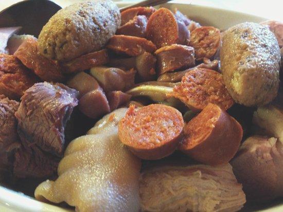 Restaurante Las Termas: La carne