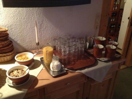 Gastehaus Pfatischer: Frühstück