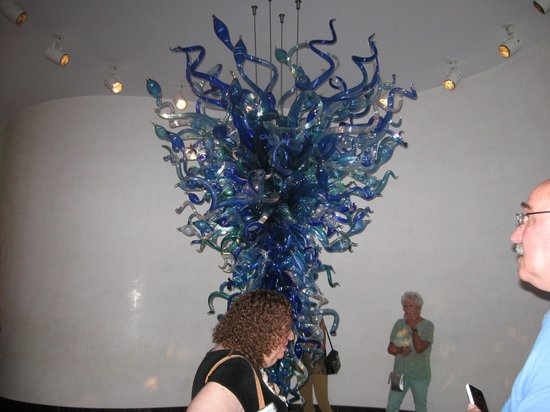Chihuly Collection : blue glass