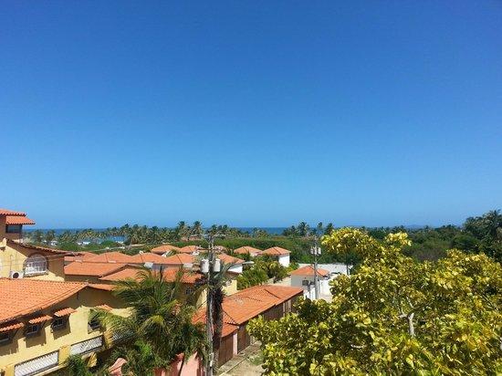 Costa Linda Beach: Vista desde la habitación con balcón