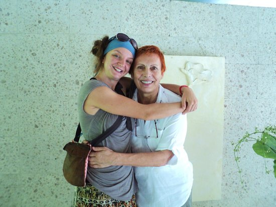 Jiwa Damai Organic Garden & Retreat: loveliest owner Margaret