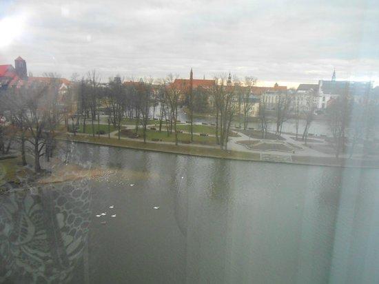 HP Park Plaza Hotel : widok z naszego okna