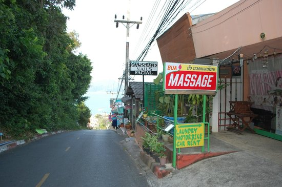 Cape Panwa Hotel: Local massage only £3 for half hour on your feet