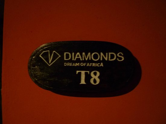 Diamonds Dream of Africa: Room Numbers