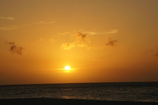 Bucuti & Tara Beach Resort Aruba : Sunset from Bucuti Beach