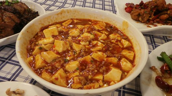 ShangHai DiShuiDong (MaoMing South Road): Mapo tofu