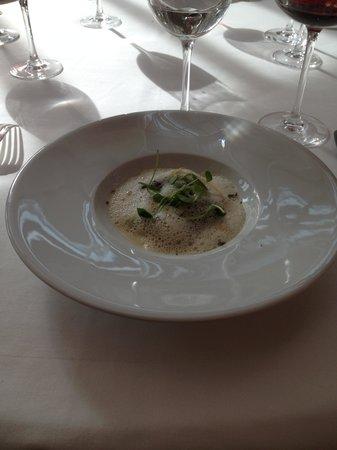 Restaurant Clair de Plume Gastronomique : Truffe