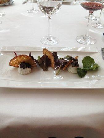Restaurant Clair de Plume Gastronomique : le fromage de chèvre