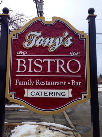 Tony's Bistro: Come join us!