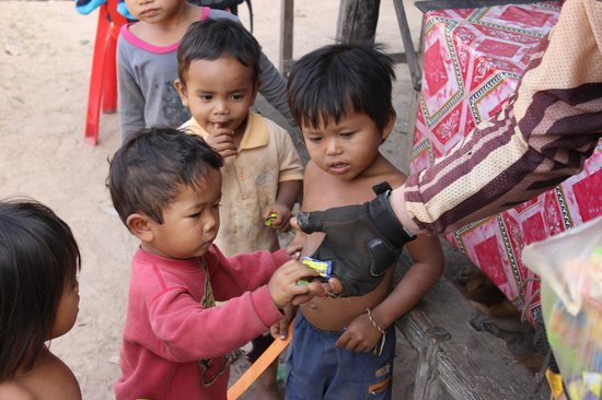 Cambodia Dirtbike Tours - Day Tours: candy