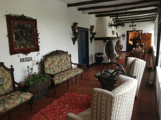 Casa de hacienda Su Merced: Small Lobby