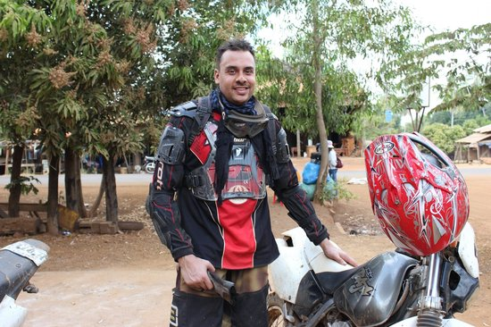 Cambodia Dirtbike Tours - Day Tours: happy