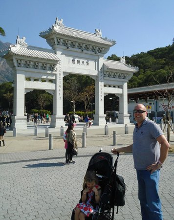 Tian Tan Buddha (Big Buddha): Something for all to see and its all fairly newly built 1990