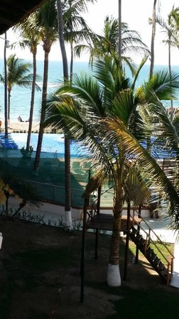 Crown Paradise Club Puerto Vallarta: View of the Ocean from Room 413