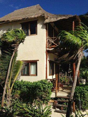 Rosa del Viento: double level cabanas