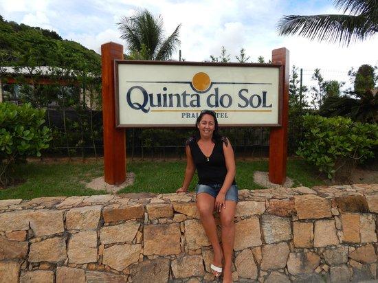 Quinta do Sol Praia Hotel: frente do hotel