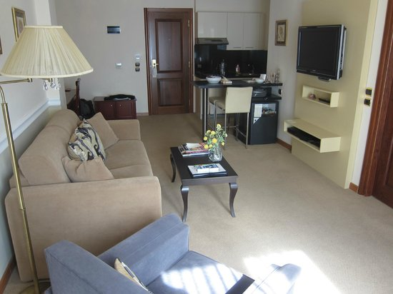 AVA Hotel Athens : Our suite view 2
