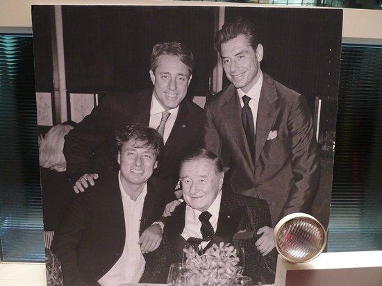 Le Cirque Cafe: The Maccione family