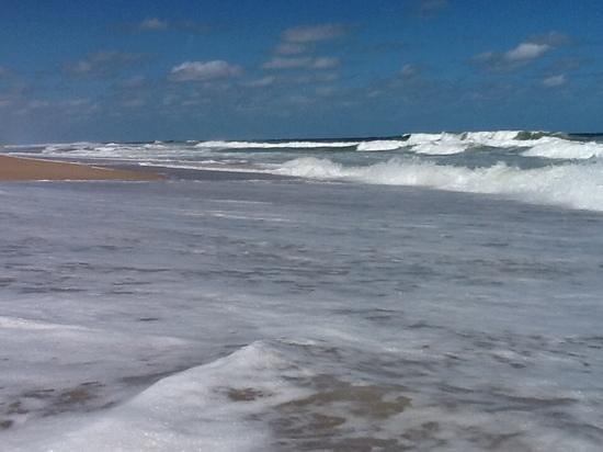 Playa frente a La Viuda de Jose Ignacio