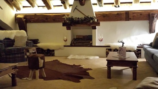 Le Chardon Mountain Lodges : Lounge