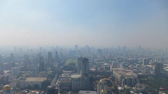 Renaissance Bangkok Ratchaprasong Hotel: south view from 84th open rotating deck of Baiyoke Sky Hotel