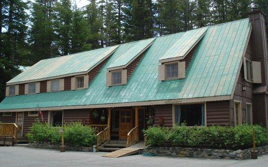 Wildyrie Lodge : Historic lodge building