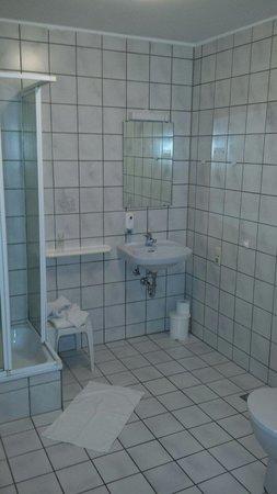 Casilino Hotel Rostocker Tor: Badezimmer