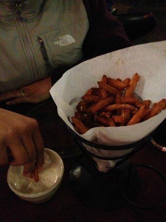Iron Door Saloon and Grill: Best Sweet Potato Fries Ever!!