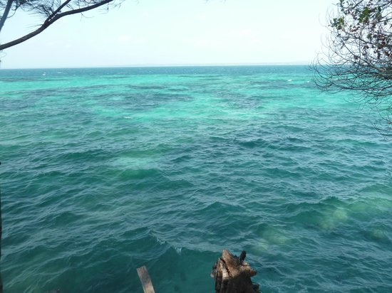 Uroa Bay Beach Resort : PRISON ISLAND
