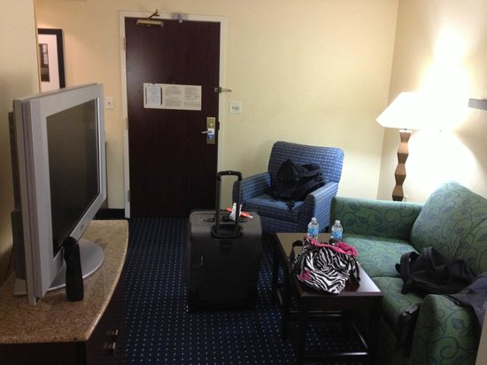 SpringHill Suites Fort Lauderdale Airport & Cruise Port : Living Room