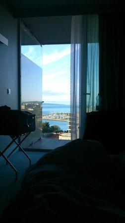 Radisson Blu Resort Split: View from bed