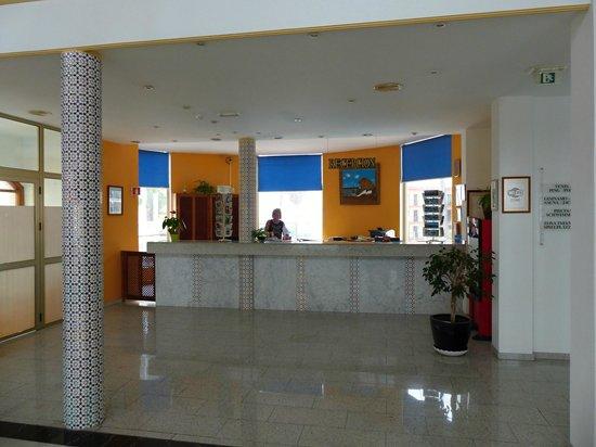 Hotel RF San Borondon : Hotel Rezeption