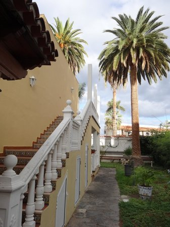 Hotel RF San Borondon : Hotel Parkanlage