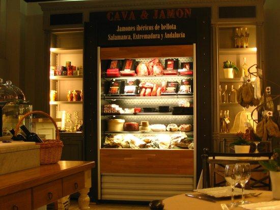 Restaurante Cava & Jamon: i salumi