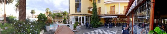 Hotel RF San Borondon : Hotel Parkanlage (Panorama)