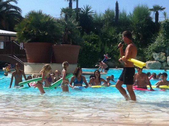 Pierre & Vacances Résidence Cannes Verrerie : den ene pool