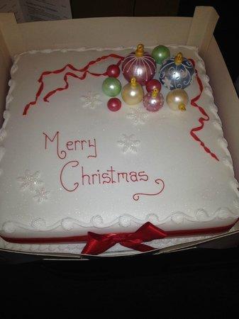 New Westcliff Hotel: Lovely Homade Chritsmas Cake