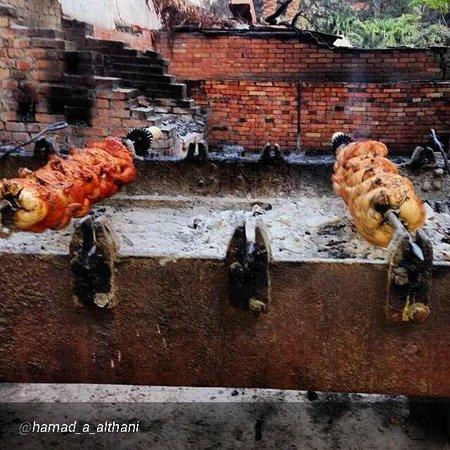 Andrea Mariouteya : Our original blended chicken