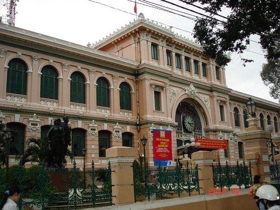 Bong Sen Hotel Saigon : Здание Телеграфа.