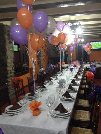 La Antigua Ferreria Hotel Rural: Feliz Cumpleaños