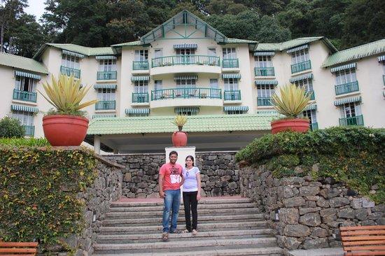 Club Mahindra Munnar : Hotel Facia