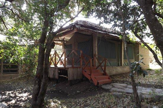 Kichakani Mara Camp: accesso alla tenda