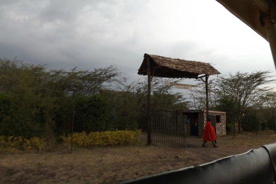 Kichakani Mara Camp: ingresso
