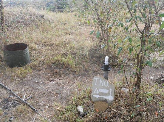 Kichakani Mara Camp: indicazione delle tende