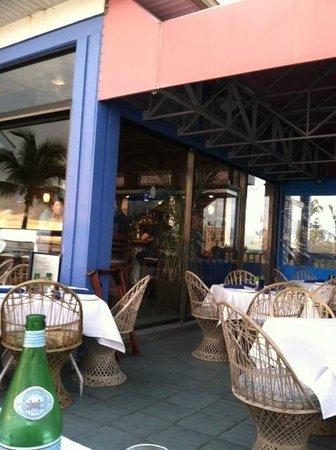 Fresh Catch Bistro : The balcony